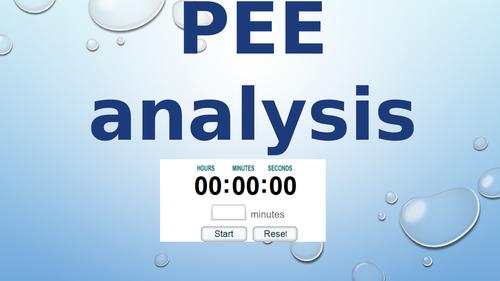 PEE analysis