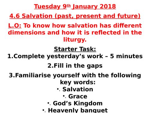 AQA B GCSE - 4.6 - Salvation (past, present & future)