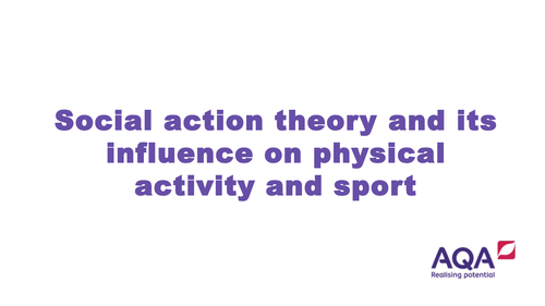 AQA A Level PE (NEW SPEC) Equality in Sport