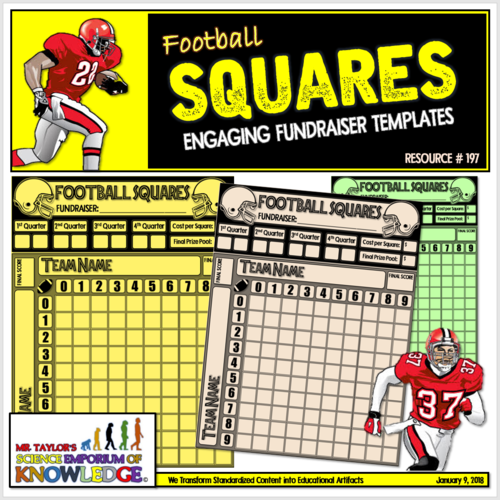 Football Squares: Engaging Fundrasier Templates