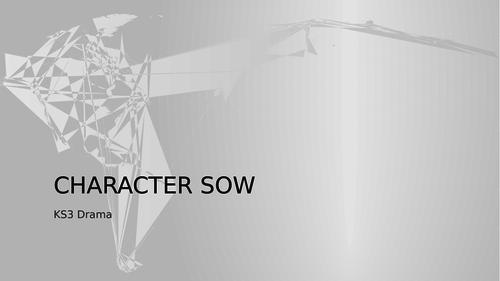 KS3 Drama Character SOW