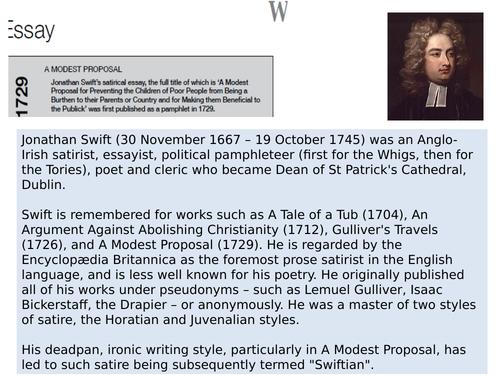 OCR EMC Anthology Jonathan Swift- A Modest Proposal 1729