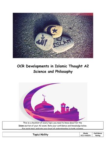 OCR A2 Islam : science & Philosophy