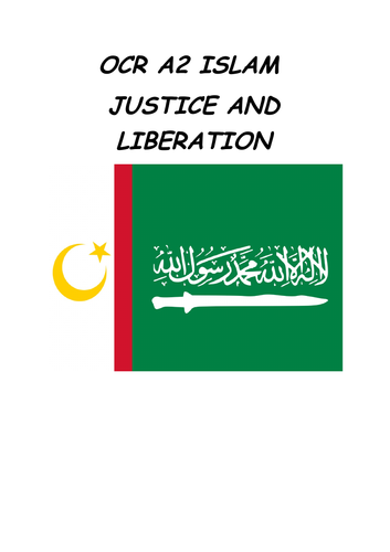 OCR A2 ISLAM : justice and liberation