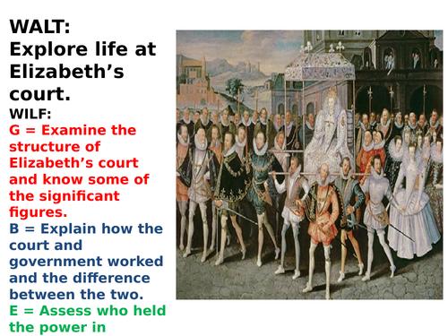 Elizabethan Court Life AQA New GCSE