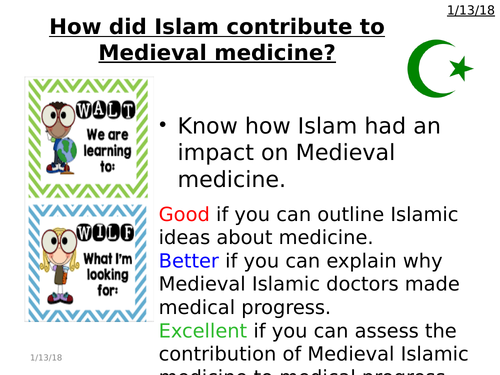 Islamic Medicine - Health and the People - GCSE History