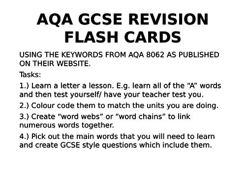 AQA REVISION CARDS RELIGIOUS EDUCATION RE 8062 ISLAM GCSE