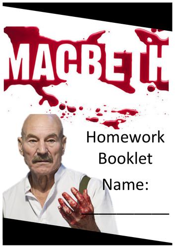 Macbeth - Homework Booklet AQA GCSE