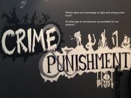 Year 9 Ethics- Crime and Punishment