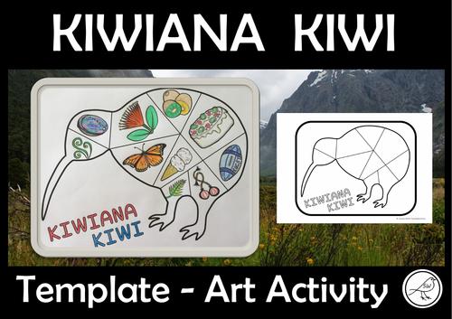 Kiwiana Kiwi - Art Activity