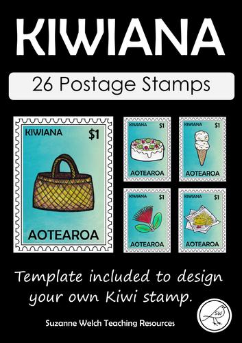 Kiwiana – Postage Stamps