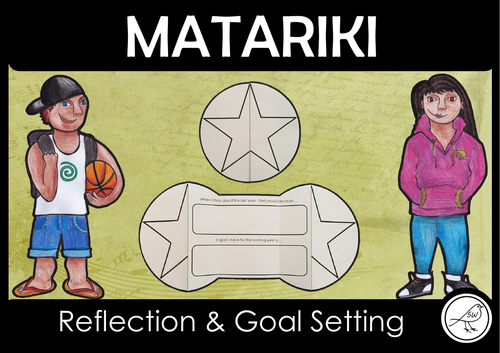 Matariki – Reflection and Goal Setting Foldable