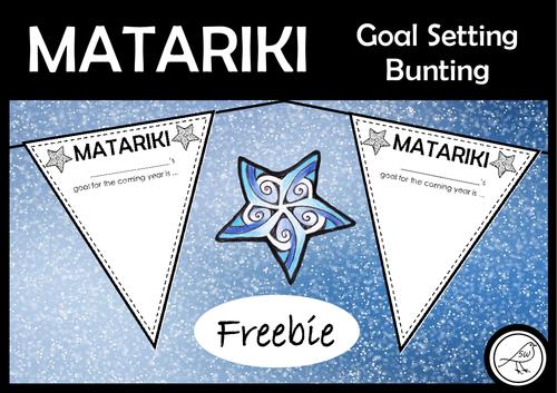 Matariki - Free Goal Setting Bunting