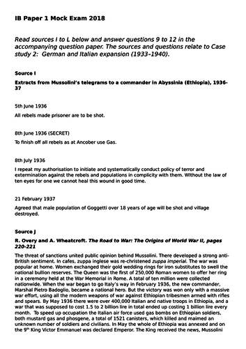 ib history paper 1