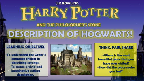 Harry Potter and the Philosopher's Stone - Description of Hogwarts!