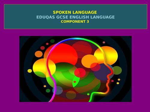 NEW Eduqas GCSE English Language - Component 3 (Spoken Language) Outline
