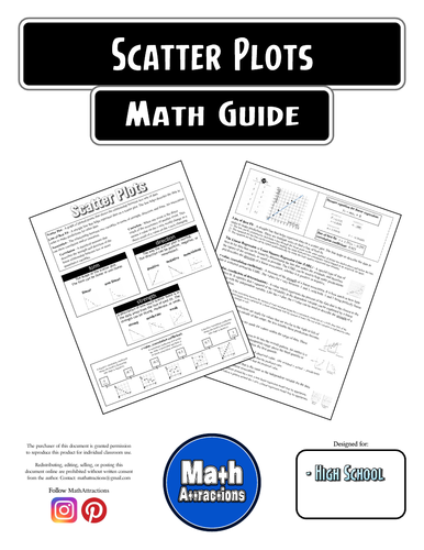 Math Guide - Scatter Plots