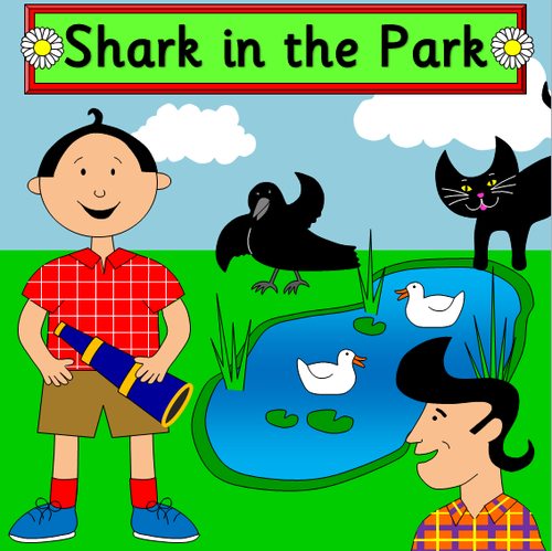 Shark in the Park story resource pack