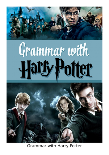 Grammar with HARRY POTTER