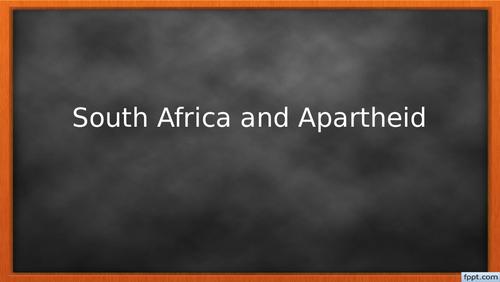 Apartheid: Ending Apartheid (Lesson 6)