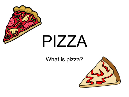 Year 7 quick Pizza lesson and resources (50 min lesson)