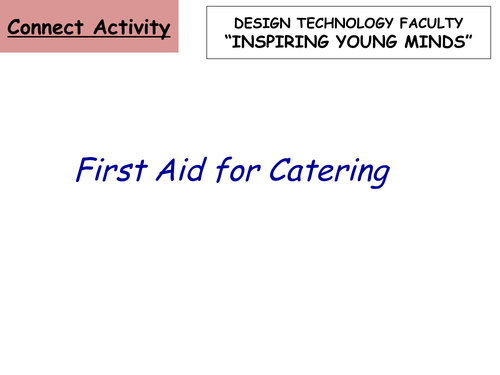 First Aid in Catering