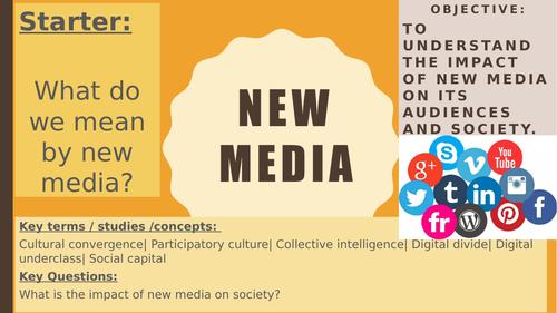 AQA A2 Sociology- Mass Media: New Media