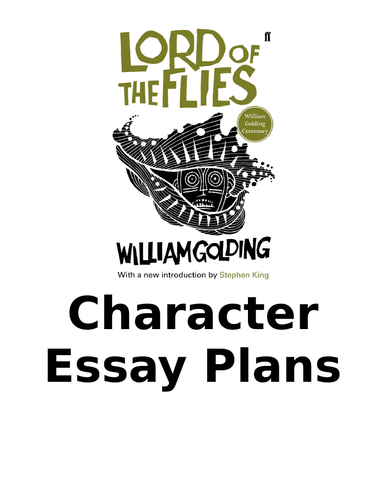 Eduqas 9-1 English Literacture Lord of The Flies Revision Pack