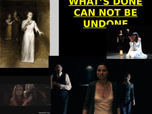 Act 5 scene 1 of Macbeth