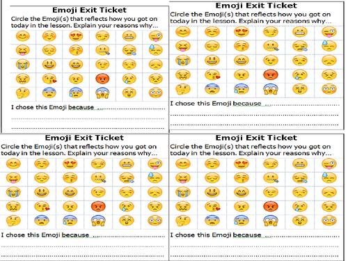 Emoji exit - plenary