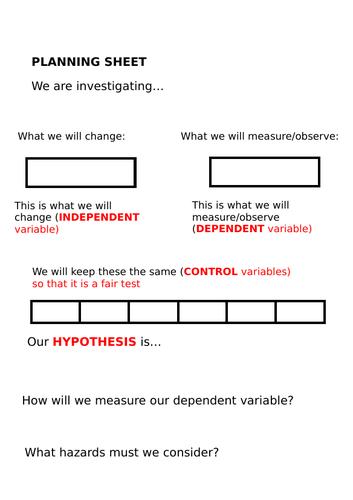 Separating mixtures investigation KS3 AQA
