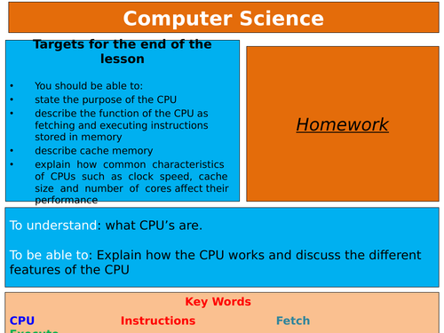 Computer Science- Revision