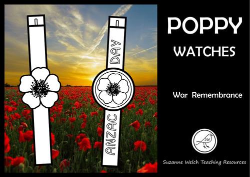 Anzac Day – Poppy Watches