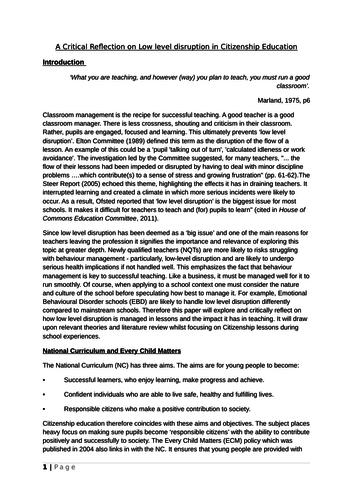 Behavior Management for Teachers