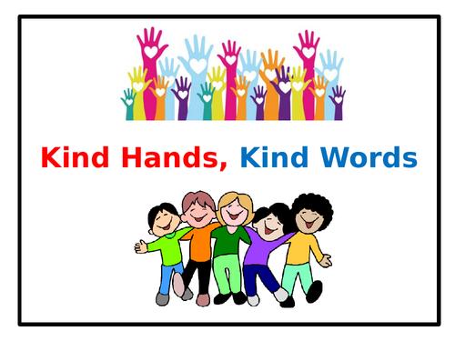 Assembly: Kind Hands, Kind Words