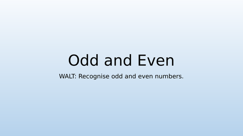 Odd and Even Numbers with Greater Depth/Mastery Questions - Year 2