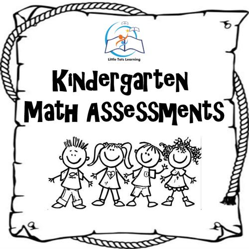 Kindergarten Math Assessment
