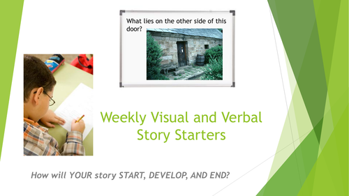 Visual and Verbal Story Starters