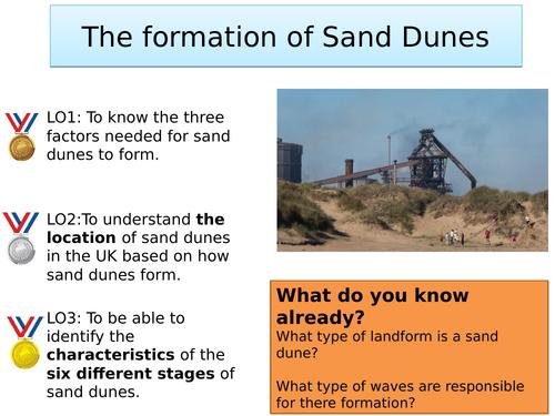 Sand Dune Formation