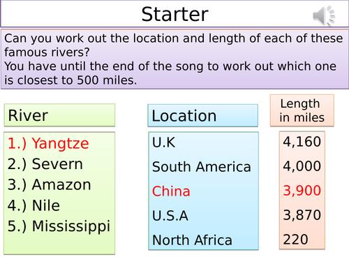 Drainage Basins and Long Profiles of Rivers