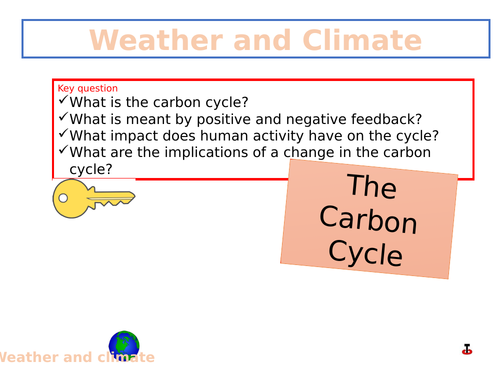 Carbon Cycle and the Impact of Human Activity
