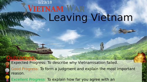 End of the Vietnam War (Edexcel GCSE)
