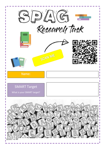 SPaG Research,Review and target booklet