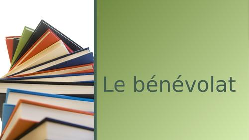AQA French - A1 - Le bénévolat
