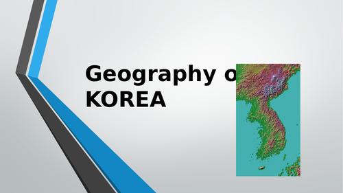 Geography of Korea