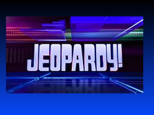 Matter Review - Jeopardy-style game