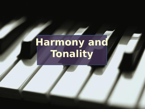 Major and minor tonality