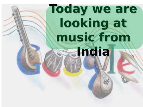 Indian Music - Classical and Bhangra