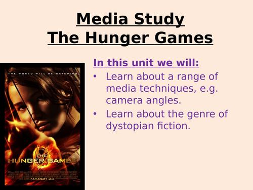 Hunger Games Media Study