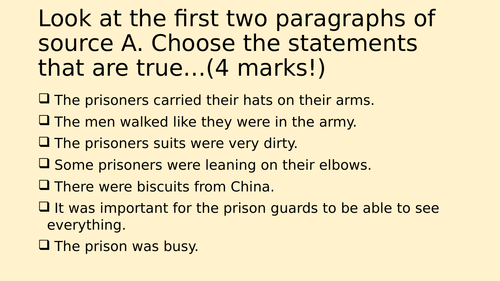 Question 4 from AQA English Language Paper 2